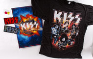 "KISS ""Hottest Show on Earth"" Meet and Greet 6-piece Package, (size S)"
