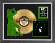 KISS Gold Record - Peter Solo Silhouette