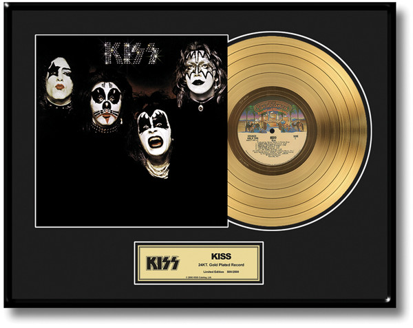 Kiss Gold Record First Album Lp Kiss Museum