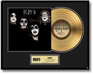 KISS Gold Record - First Album LP