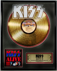 KISS Gold Record - Alive II LP
