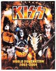 KISS Tourbook - World Domination '03