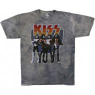 KISS T-Shirt - Love Gun TIE-DYE - SIZE MEDIUM