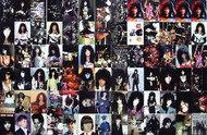 KISS Eric Carr Cards - Uncut Sheet