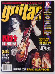 KISS Magazine - Wolf Marshall's Guitar, Ace 6/97