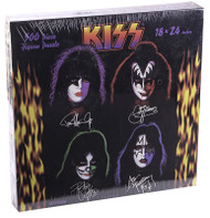 KISS Jigsaw Puzzle - Solo Faces 1997