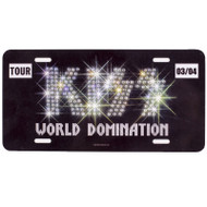KISS License Plate - Diamond Logo