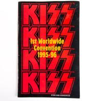 KISS Tourbook - Alive Worldwide Convention Program '95