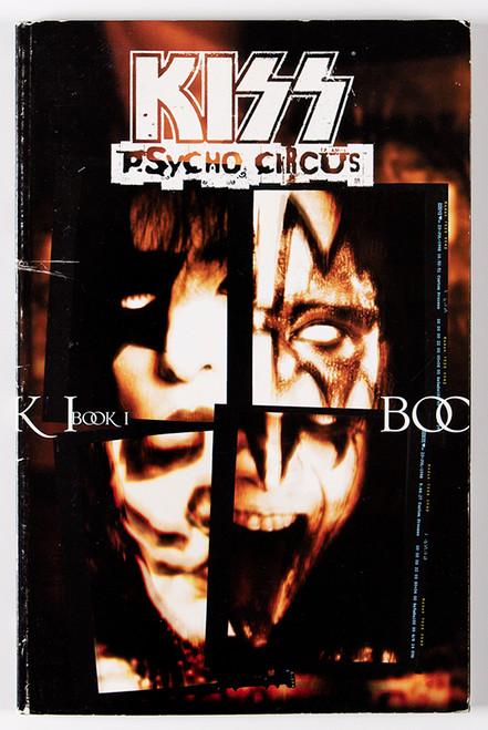 Kiss Comic Psycho Circus Book 1 Kiss Museum
