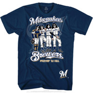 KISS T-Shirt - Milwaukee Brewers MLB Baseball