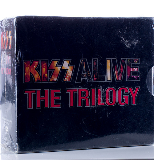 Kiss Cd Kiss Alive The Trilogy Box Set Kiss Museum