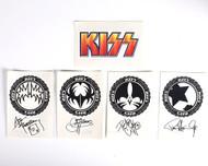 KISS Temporary Tattoos - Icons, set of 5