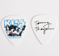 KISS Guitar Pick - The Tour, group photo Tommy
