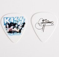 KISS Guitar Pick - The Tour, group photo Gene