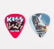 KISS Guitar Pick - Virginia Beach The Tour, Tommy 2012