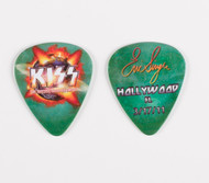 KISS Guitar Pick - Hollywood FL, Eric 2011