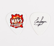 KISS Guitar Pick - Hottest Show on Earth, white, Eric
