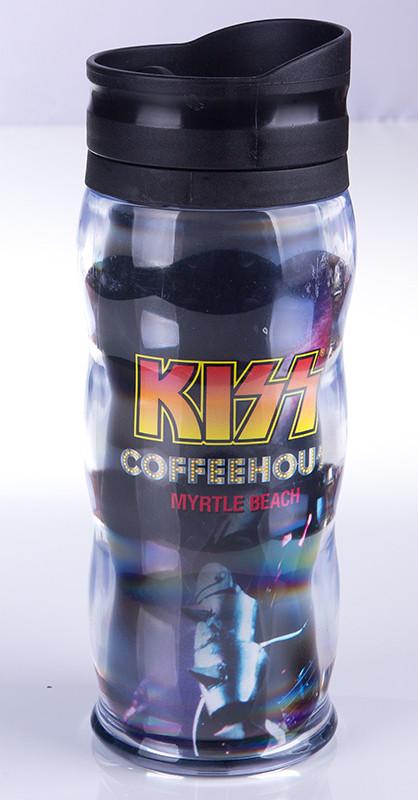 Kiss Coffeehouse Travel Mug