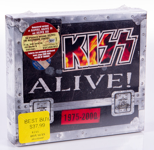 Kiss Cd Kiss Alive 1975 2000 Four Disc Box Set