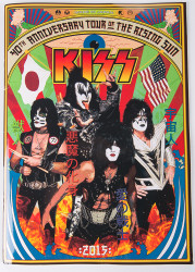 KISS Tourbook - Japanese 40th Anniversary tour (8/10)