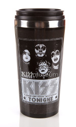 KISS Travel Mug - In Concert