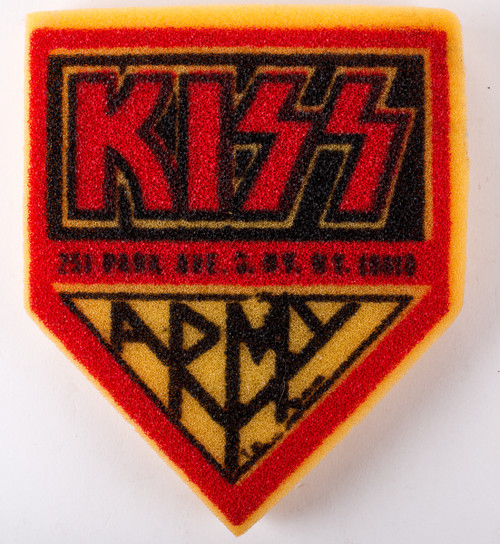 Kiss Army Concert Sponge 1979 Kiss Museum