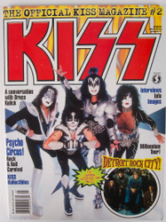 KISS Magazine - Official KISS Magazine #2, Starlog Series