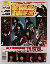 KISS Magazine - Starline Presents KISS, 8 giant pull-outs, 1987