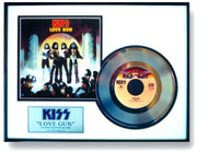 "KISS ""Platinum"" Record - Love Gun 45"