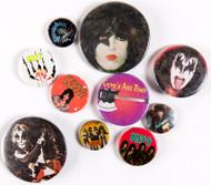 KISS Buttons - Lot #39