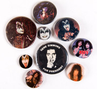 KISS Buttons - Lot #36