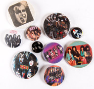 KISS Buttons - Lot #31