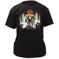 KISS T-Shirt - Love Gun BLACK