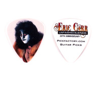 Eric Carr Guitar Pick - Unfinished Business Promo, (white)