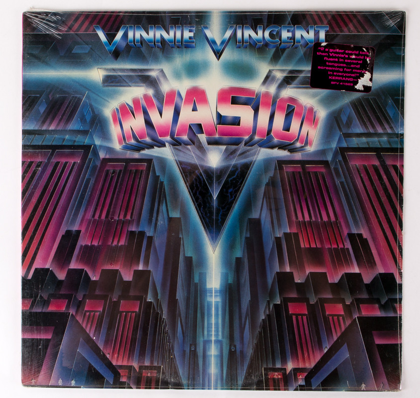 Vinnie Vincent Invasion Vinyl Lp Vinnie Vincent Invasion