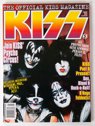 KISS Magazine - Starlog Official KISS Magazine, 1997