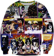 KISS Sweat Shirt - Unmasked