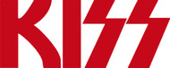 KISS Rub-On Decal - Red KISS Logo