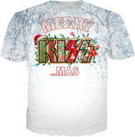 KISS T-Shirt - KISSmas Logo, (all-over print)