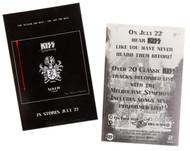 KISS Sticker - KISS Symphony promo sticker, (black)