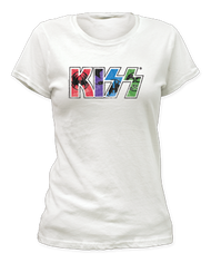 KISS Shirt - Women's Girls's Kawaii Logo