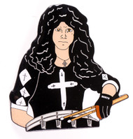 Eric Carr Pin - Cross