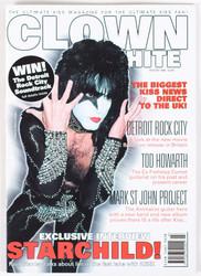 KISS Magazine - Clown White, Paul white, Winter 1999