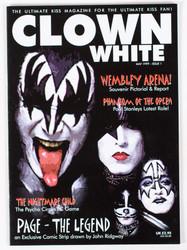 KISS Magazine - Clown White, Group 1999