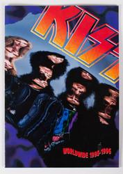 KISS Tourbook - Worldwide 1995-1996 Japan