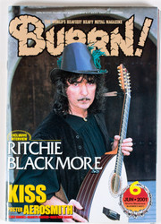 KISS Magazine - Burrn!, Japan June 2001, Blackmore