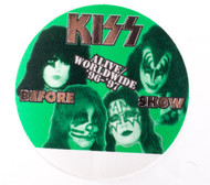 KISS Backstage Pass -  Alive/Worldwide 1996, BEFORE SHOW GREEN
