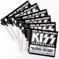 KISS Postcards - Official KISS Expo, set of 6