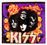 KISS Sticker - You Wanted the Best, purple