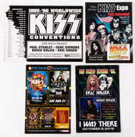 KISS Postcards - assorted set of 4